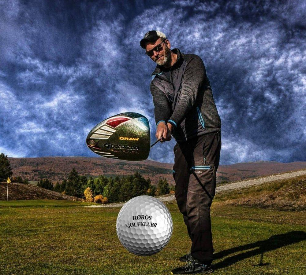 røros golfklubb.....